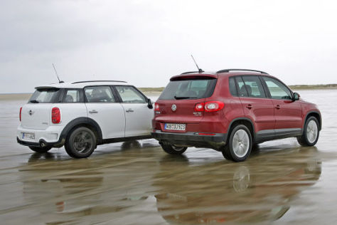 VW Tiguan Mini Countryman