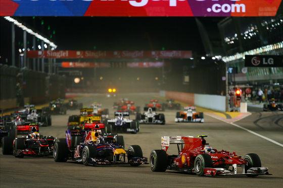 Ferrari, Red Bull und McLaren