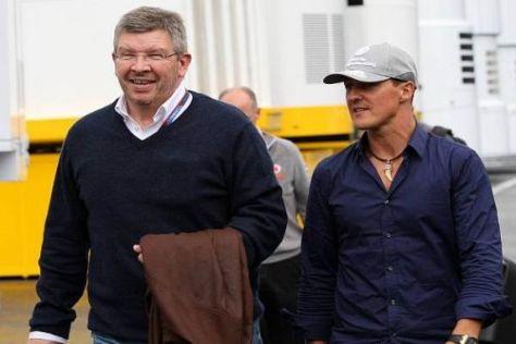 Ross Brawn und Michael Schumacher haben gemeinsam viele Erfolge gefeiert
