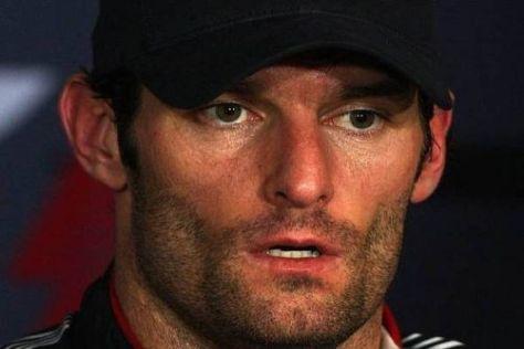 Auch Fitness-Fanatiker Mark Webber war nach dem Singapur-Rennen platt