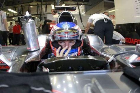 Jenson Button sieht sich noch gut im Rennen um den Titel 2010