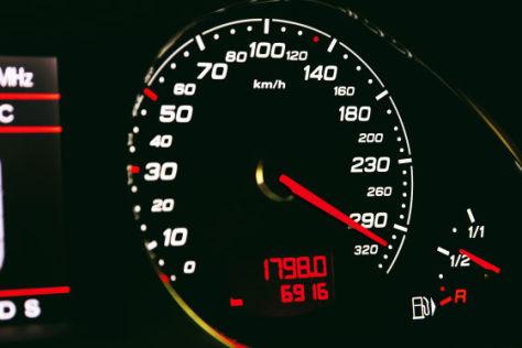 Tacho im Audi ABT RS 6