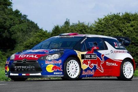Mit dem neuen DS3 WRC soll Citroën-Superstar Sébastien Loeb Erfolge feiern