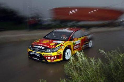 Petter Solberg war zum Auftakt der Rallye Frankreich der schnellste Mann