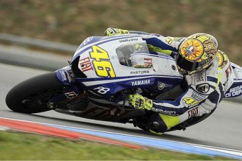 Valentino Rossi fuhr im Freien Training von Japan an die Spitze des Starterfeldes