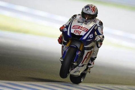 Jorge Lorenzo gab im zweiten Freien Training von Japan das Tempo vor