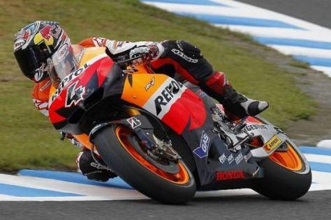 Andrea Dovizioso nimmt Kurs auf ein gutes Rennergebnis beim Honda-Heimevent