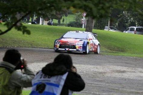 Sébastien Loeb steuert in Frankreich weiter seinem siebten Titel entgegen