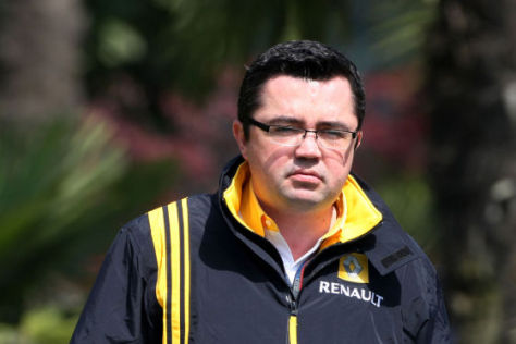 Renault-Teamchef Eric Boullier