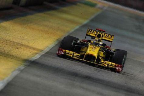 Robert Kubica fiebert dem Grand Prix auf der Fahrerstrecke schon entgegen