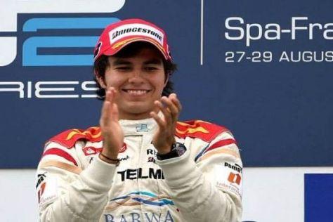 Mexikaner Nummer eins: Sergio Pérez steigt mit Sauber in die Formel 1 ein