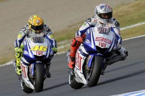 Valentino Rossi und Jorge Lorenzo haben sich für Sepang einiges vorgenommen