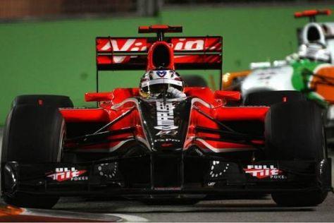 Timo Glock und das Virgin-Team nehmen Kurs auf ein starkes Debüt in Suzuka