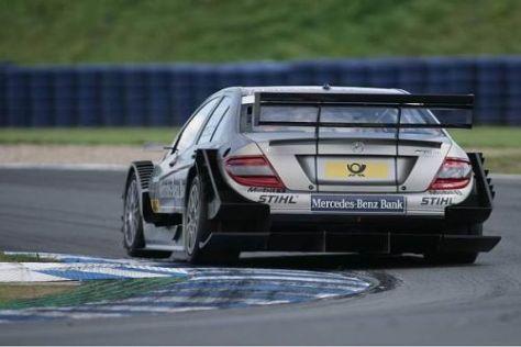 Bruno Spengler und sein Mercedes zeigen der Konkurrenz momentan das Heck