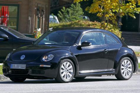 VW New Beetle Erlkönig