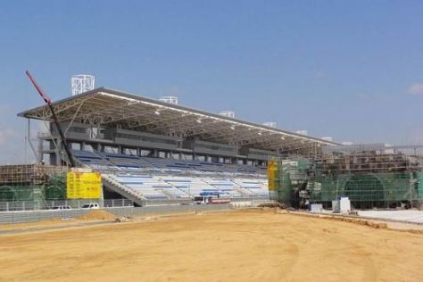 Immer noch Baustelle in Südkorea: Derzeit sieht es dort nicht allzu gut aus...