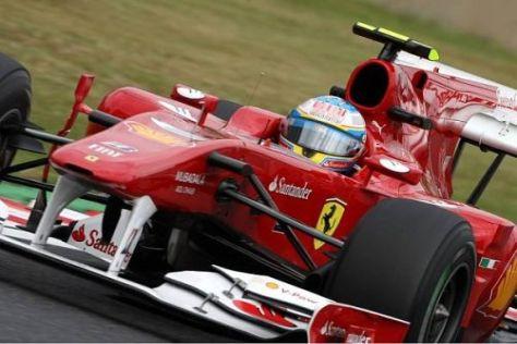 Fernando Alonso holte am Freitag das Beste aus seinen Möglichkeiten: Platz vier