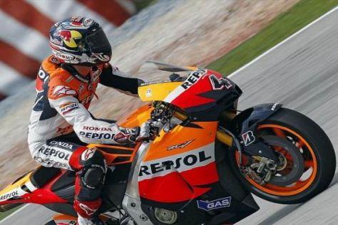 Erste Startreihe: Andrea Dovizioso befindet sich derzeit in blendender Form