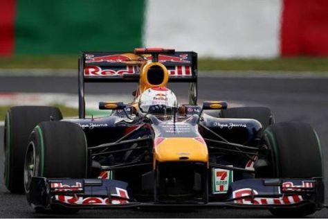 Sebastian Vettel sicherte sich die Pole-Position im sonnigen Suzuka