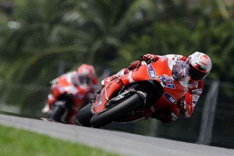 Das Ducati-Duo hatte sich in Sepang ein wesentlich besseres Ergebnis erhofft