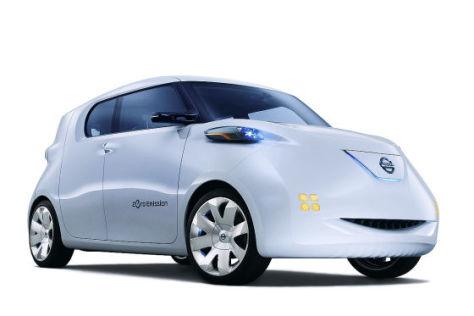 Nissan Townpod auf dem Autosalon Paris