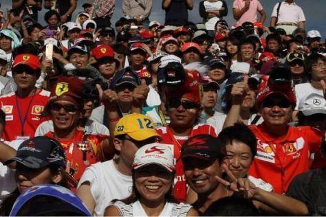 Der Schein trügt: Der Grand Prix von Japan war bei weitem nicht ausverkauft