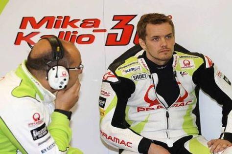 Muss Mika Kallio seinen Platz bei Pramac schon nächste Woche räumen?