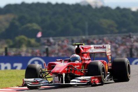 Fernando Alonso und Ferrari wollen in Südkorea unbedingt sehr gut abschneiden