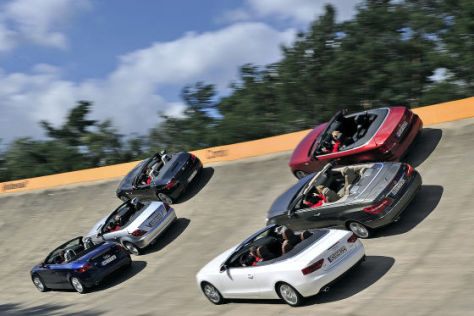 Vergleich: Cabrio gegen Roadster