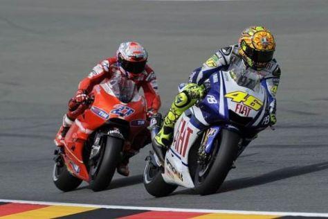 Valentino Rossi rechnet auf Phillip Island mit Ducati und Casey Stoner