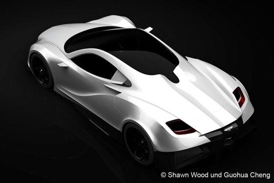 Bentley Silver Wings Design Studie
