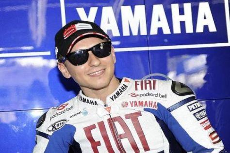 Weltmeister Jorge Lorenzo kann die letzten drei Rennen ohne Druck fahren