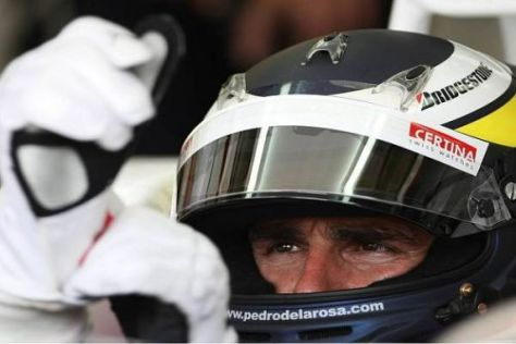 Pedro de la Rosa will möglichst bald ins Formel-1-Renncockpit zurückkehren