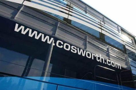 Cosworth wird auch weiterhin in der Formel 1 vertreten sein - mit drei Rennställen