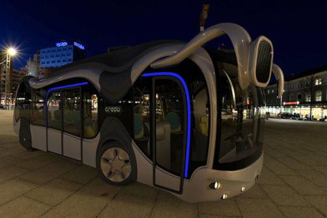 Credo E-Bone Konzept-Bus