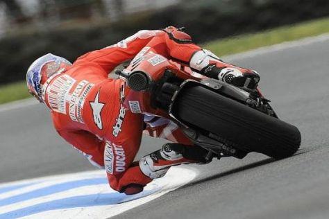 Pole-Position: Die Konkurrenz sah Casey Stoner im Qualifying nur von hinten