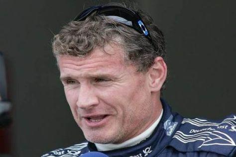 David Coulthard erlebte seinen ersten richtigen Regentag in der DTM