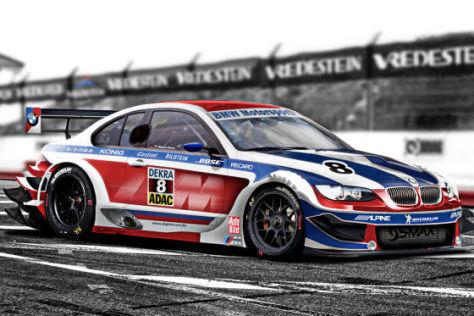 Fotomontage: So könnte der BMW M3 DTM für 2012 aussehen