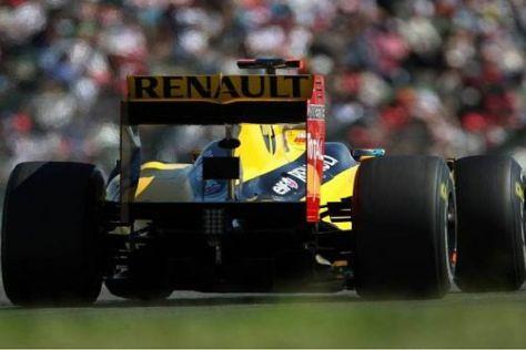 Der R30 lief nicht lange: Robert Kubica hatte beim Grand Prix von Japan Pech