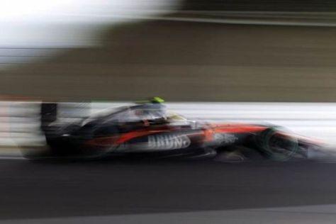 Bruno Senna will den HRT-Boliden wieder über die komplette Distanz bringen