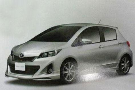 Toyota Yaris (2012): Erste Bilder