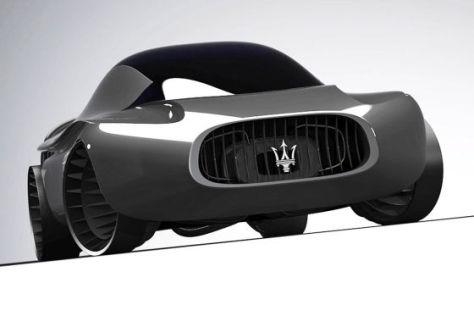 Maserati Quattroporte 2030 Concept