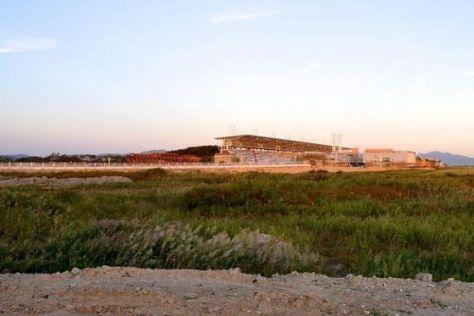 Derzeit erinnert in Yeongam noch wenig an eine künftige Formel-1-City