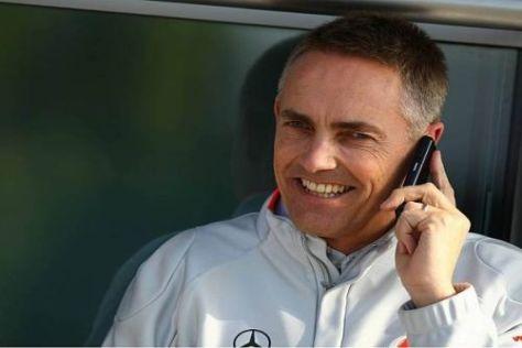 Martin Whitmarsh wird auch weiterhin mit Vodafone-Handy telefonieren