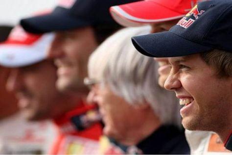 Sebastian Vettel gibt sich in Südkorea betont gelassen und sehr entspannt