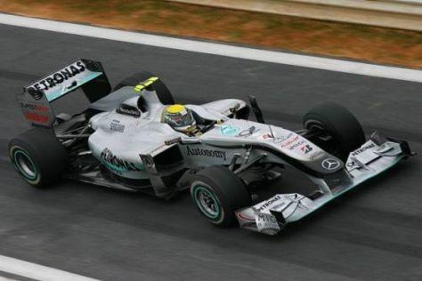 Nico Rosberg startet aussichtsreich als Fünfter in Südkorea