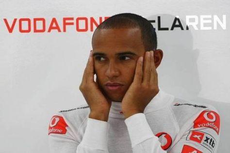 Lewis Hamilton hatte sich heute mehr erhofft als den vierten Startplatz