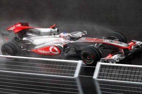 Jenson Button schwammen in Südkorea die Felle für die Titelverteidigung davon