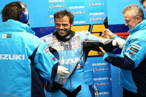 Loris Capirossi möchte dem Suzuki-Team in Portugal etwas zurückzahlen