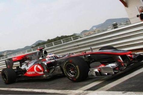 Jenson Button wird seine Startnummer 1 wahrscheinlich abgeben müssen